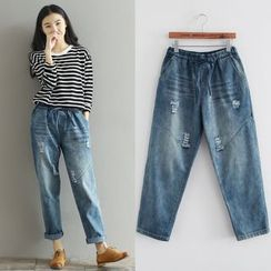 Fancy Show - Washed Jeans