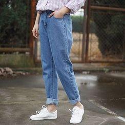 tete - 直筒牛仔裤