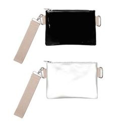Heynew - Faux Patent Leather Clutch