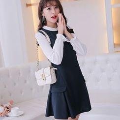 Nyssa - Color-Block A-Line Dress