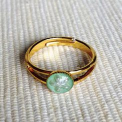 MyLittleThing - Resin Little Snowflake Ring (Mint)