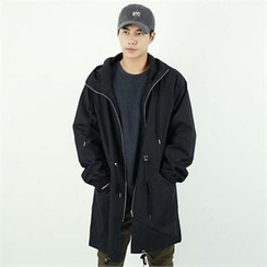 BYMONO - Hooded Raglan-Sleeve Parka