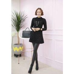 Lemite - Glitter Knit Dress