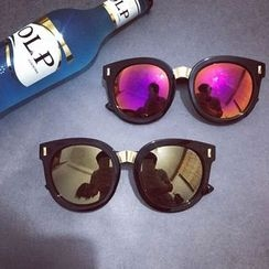 Pompabee - Thick Frame Sunglasses