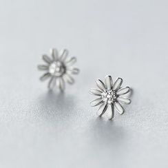 A'ROCH - Daisy 925 Sterling Silver Stud Earrings