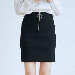 BAIMOMO - 針織裙
