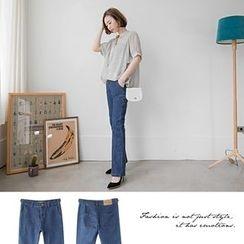 OrangeBear - Boot-Cut Jeans