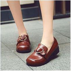 幸福鞋坊 - 飾扣樂福鞋