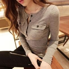 Jolly Club - Long-Sleeve Henley
