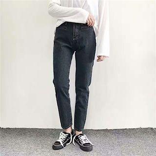 COMON - Straight-Cut Jeans