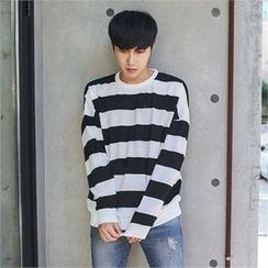 MITOSHOP - Striped Sweatshirt