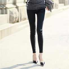 Styleonme - Colored Skinny Pants