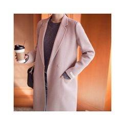 MASoeur - Snap-Button Wool Blend Coat
