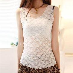 camikiss - Lace Tank Top