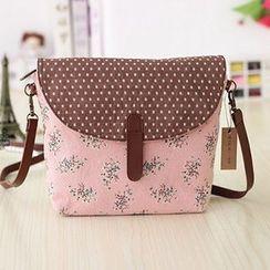 Ms Bean - Fabric Crossbody Bag