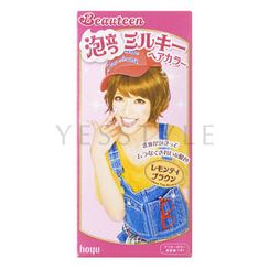 hoyu - Beauteen Bubble Hair Color #Lemon Tea Brown