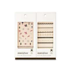 Innisfree - Eco Nail Deco Sticker (#01 Grace Lace)
