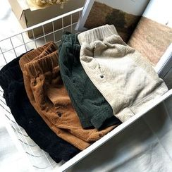 YENSI - Corduroy Shorts