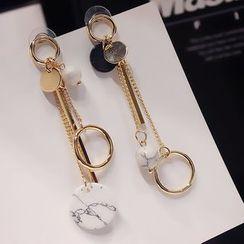 EPOQ - Non-Matching Drop Earrings