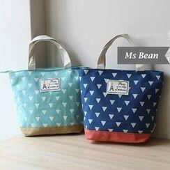 Ms Bean - Triangle Print Handbag