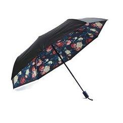 Aoba - Floral Print Compact Umbrella