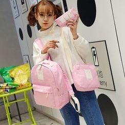 Bagolo - 套装:背包 + 斜挎包 + 小包