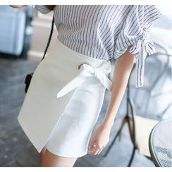 Dowisi - Bow A-line Skirt
