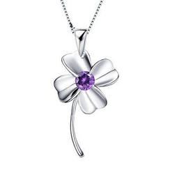 Zundiao - Sterling Silver Clover Pendant