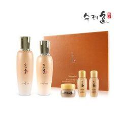 Sooryehan - Bon Extra Moisture Skincare Set: Skin 160ml + 20ml + Emulsion 130ml + 20ml + Cream 10ml