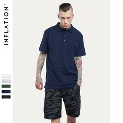 Newin - Plain Short-Sleeve Polo Shirt
