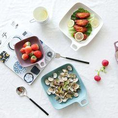 川岛屋 - 陶瓷方形餐碟