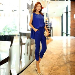 Dabuwawa - Mock Two-Piece Jumpsuit