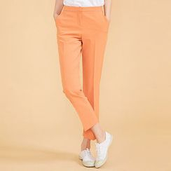 chuu - Colored Tapered Dress Pants