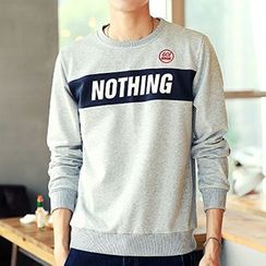 Really Point - Letter Sweatshirt