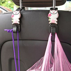 Heureux - Cartoon Car Seat Hooks