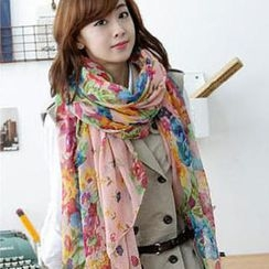 Cuteberry - Floral Scarf