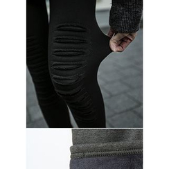REDOPIN - Brushed-Fleece Leggings