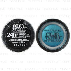 Maybelline New York - Color Tattoo by EyeStudio 24hr EyeShadow (#40 Tenacious Teal)
