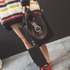Youshine - Faux Leather Bucket Bag