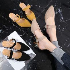 Weiya - Block Heel Sandals