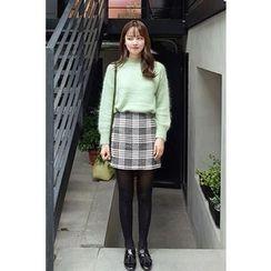 CHERRYKOKO - Patterned Mini Skirt