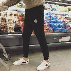 子俊 - 刺繡運動褲