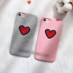 Hachi - Heart Mobile Case - iPhone 7 / 7 Plus / 6s / 6s Plus