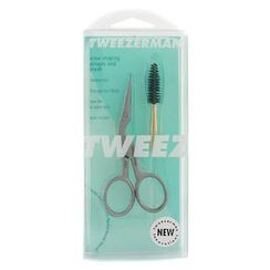Tweezerman - Stainless Brow Shaping Scissors and Brush