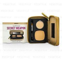 Bare Escentuals - Secret Weapon Correcting Concealer and Touch Up Veil Duo - # Medium 2 + Medium