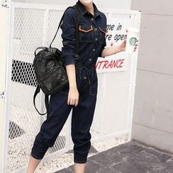 NINETTE - Denim Jumpsuit
