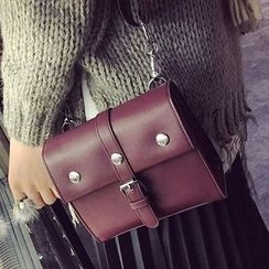 Youme - Faux Leather Crossbody Bag