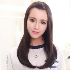LUMAN - Medium Half Wig - Straight