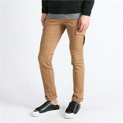 THE COVER - Cargo-Pocket Slim-Fit Pants