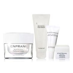 ENPRANI - White Cell Set: Raidance Cream 50ml + Foam Cleanser + Melanin Out Serum X 2 + Cream